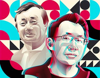 Fortune Magazine Cover Portraits