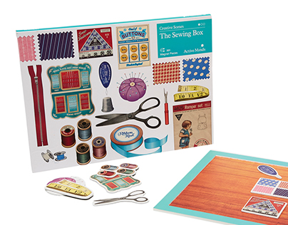Creative Scenes - Sewing set