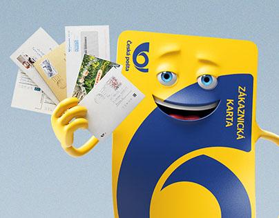 Česká pošta Customer card