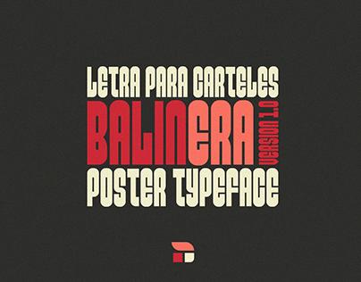 Balinera Poster Typeface (Free)