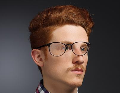 ŠKODA: Glasses print ads.