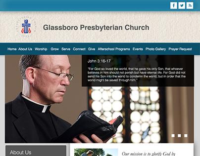 Glassboro Presbyterian Web Design