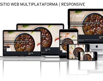 Sitio Web | RESPONSIVE: Restaurante Luz de Luna
