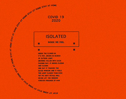 Isolation Covid 19 Design