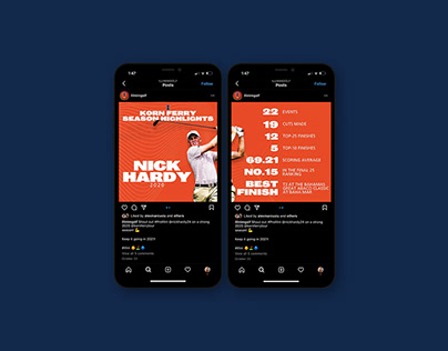 University of Illinois Athletics Social Media Graphics