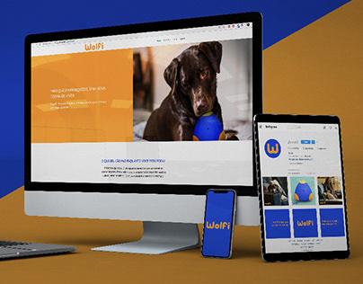Wolfi - Website and Social Medias