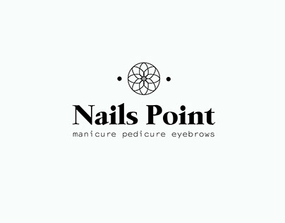 Manicure room Nails Point | branding and logo