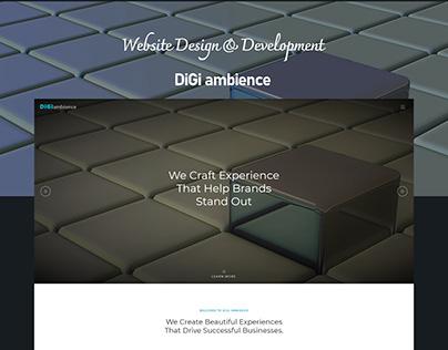 Website Design DiGiambience