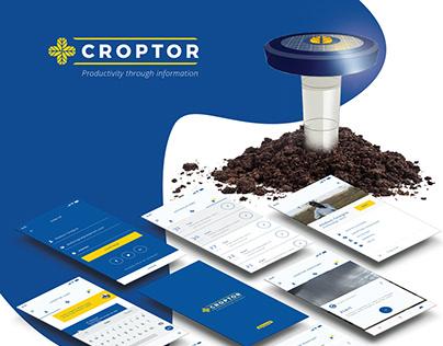 Croptor - UX Design