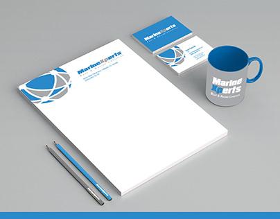 Logotipo e identidade visual - Marine Xpets