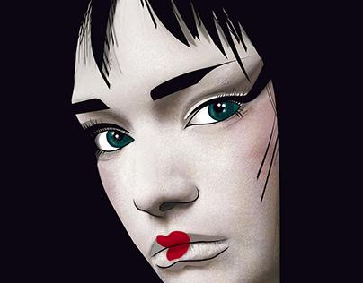 Geisha 2.0 Illustration Artwork inspired by Japan
