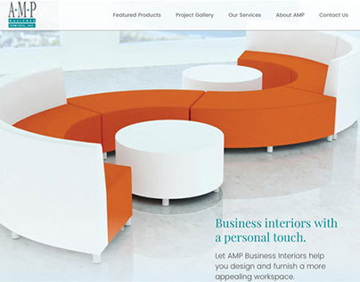 AMP Business Interiors, Inc. Website