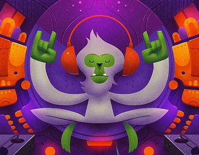 Stereo Monkey The White