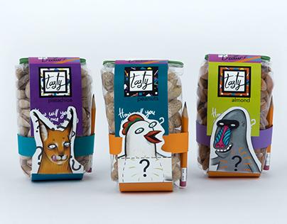 Peanuts Package design