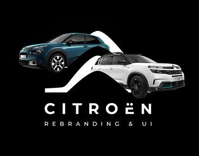 Citroën - Rebranding & UI