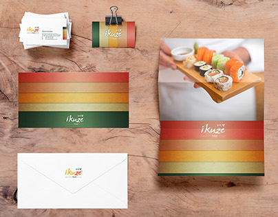 ikuze! - Brand Identity Design