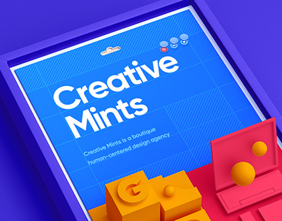 Creative Mints / Web site
