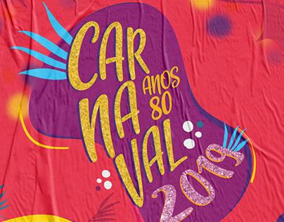 Cartaz de Carnaval Clube Aliança