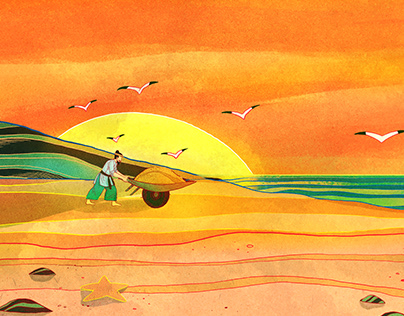 Dã Tràng xe cát - Vietnamese Fairy Tales