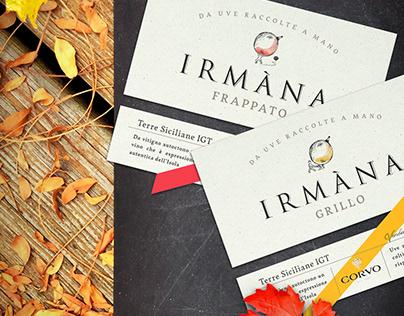 Irmàna Label Redesign