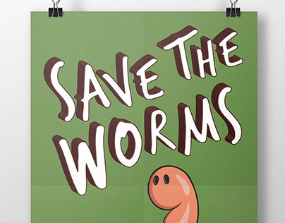 """Detroit Dirt """"Save the Worms"""""""