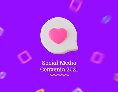 Social Media Convenia 2021