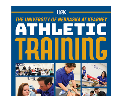 UNK Athletic Training Poster