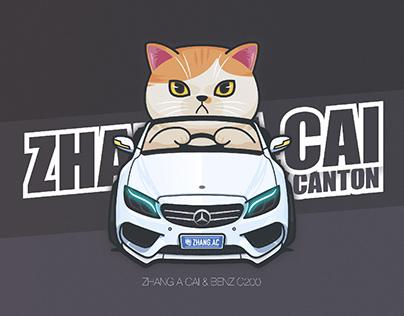 BenzC200 / Cat 張阿菜
