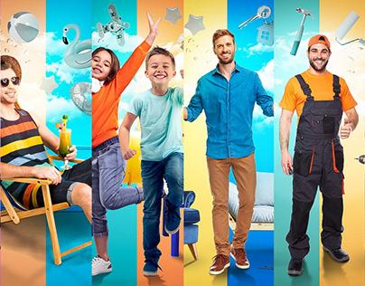 EZDAN Social Media Design Campaign