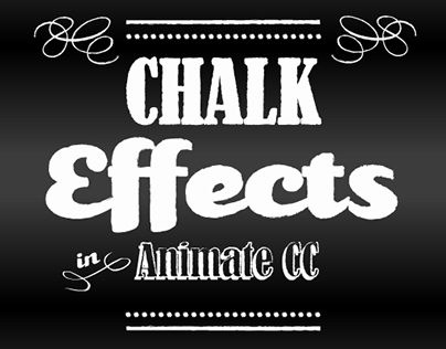 Chalk Effects in Animate CC