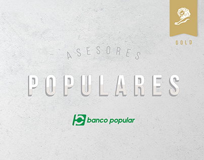 Asesores Populares / / Digital Young Lions Oro 2019