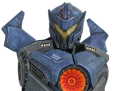 Pacific Rim 2 Gipsy Avenger Bank for Diamond Select