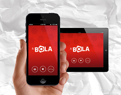 "App Jornal ""A BOLA"" 