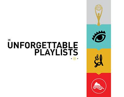 Unforgettable Playlists