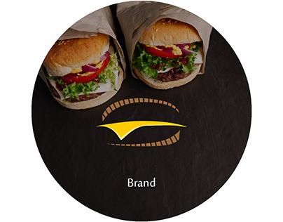 360 Burger Logo & identity design