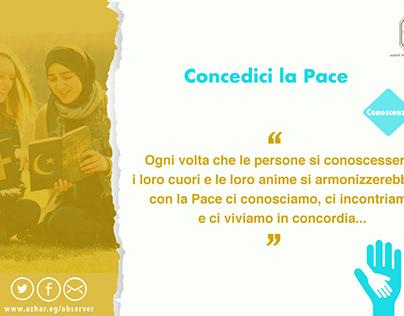 أحيينا ربنا بالسلام - DIO, Concidici La pace -1