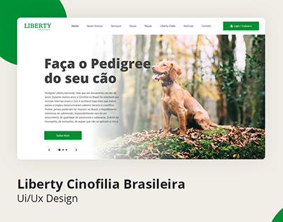 Ui/Ux - Liberty Cinofilia Brasileira