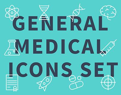 General Medical Icons Set