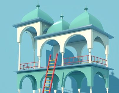 Graduation works _My name is Escher.