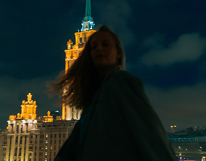 Rooftop in Moscow