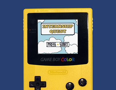 Portfolio in a GameBoy