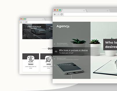 Agency Template Web Design