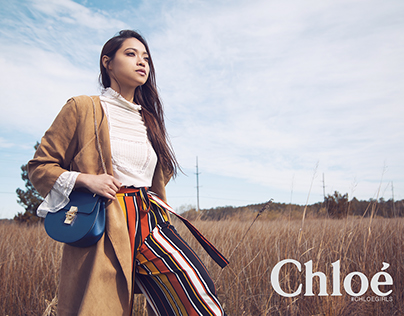Mock Up Fashion Advertisement for Chloé