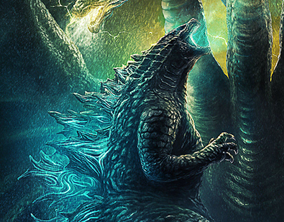 GODZILLA II:King of The Monsters Movie Poster