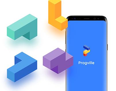 Progville Branding. Brand identity and logo.