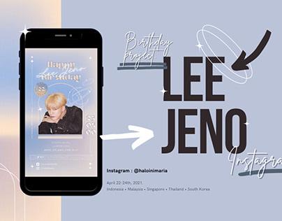Lee Jeno • Instagram Bday Ad