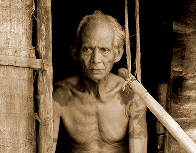 Faces of The Iban Dyaks Borneo - Uncharted Territories