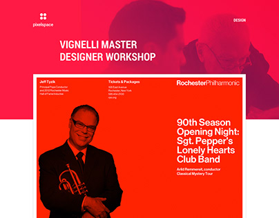 Vignelli Master Designer Workshop