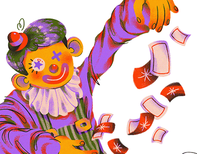 clown trick