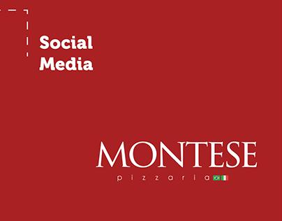 Social Media e Captura de Imagens - Montese Pizzaria